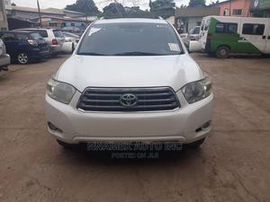 Toyota Highlander 2009 Limited 4x4 White | Cars for sale in Lagos State, Isolo