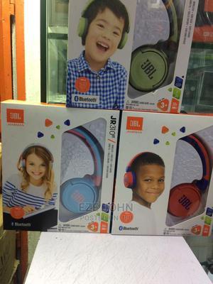 JBL JR310BT Green Kids Wireless On-Ear Headphones | Headphones for sale in Lagos State, Ikeja