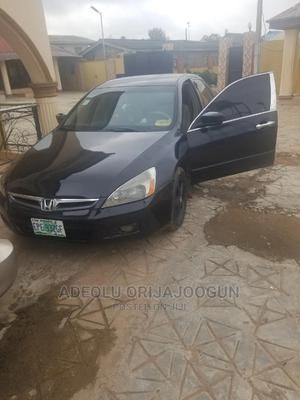 Honda Accord 2007 2.4 Black | Cars for sale in Ogun State, Abeokuta South