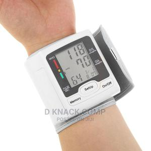Automatic Blood Pressure Monitor Wrist LCD Digital   Medical Supplies & Equipment for sale in Lagos State, Ikotun/Igando
