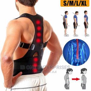 MEN/WOMEN Posture Corrector Back Shoulder Lumbar Brace Belt | Clothing Accessories for sale in Lagos State, Ikoyi