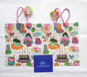 12pcs HBD Paper Party Bag | Toys for sale in Lagos State, Apapa