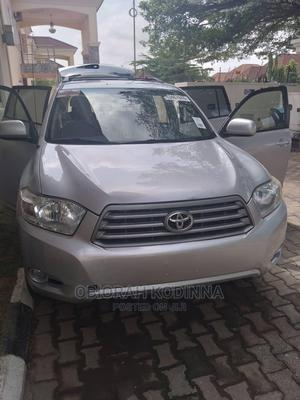 Toyota Highlander 2009 4x4 Silver   Cars for sale in Abuja (FCT) State, Central Business District