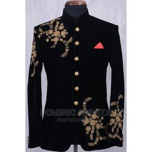 Velvet Embroidered Suits | Clothing for sale in Lagos State, Ojota