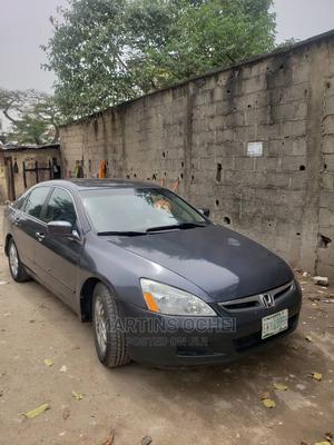 Honda Accord 2007 Sedan EX Gray   Cars for sale in Lagos State, Shomolu