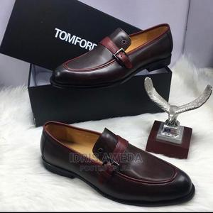 Lovely Men's Shoes Brown and Blue Color Tomford | Shoes for sale in Lagos State, Amuwo-Odofin