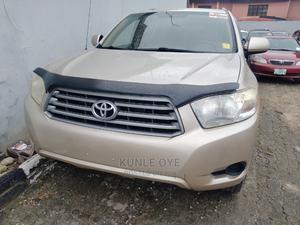 Toyota Highlander 2008 Sport Gold | Cars for sale in Lagos State, Ikeja