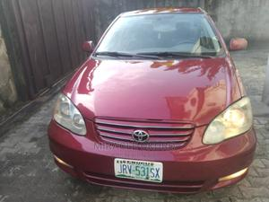 Toyota Corolla 2004 Red | Cars for sale in Rivers State, Port-Harcourt