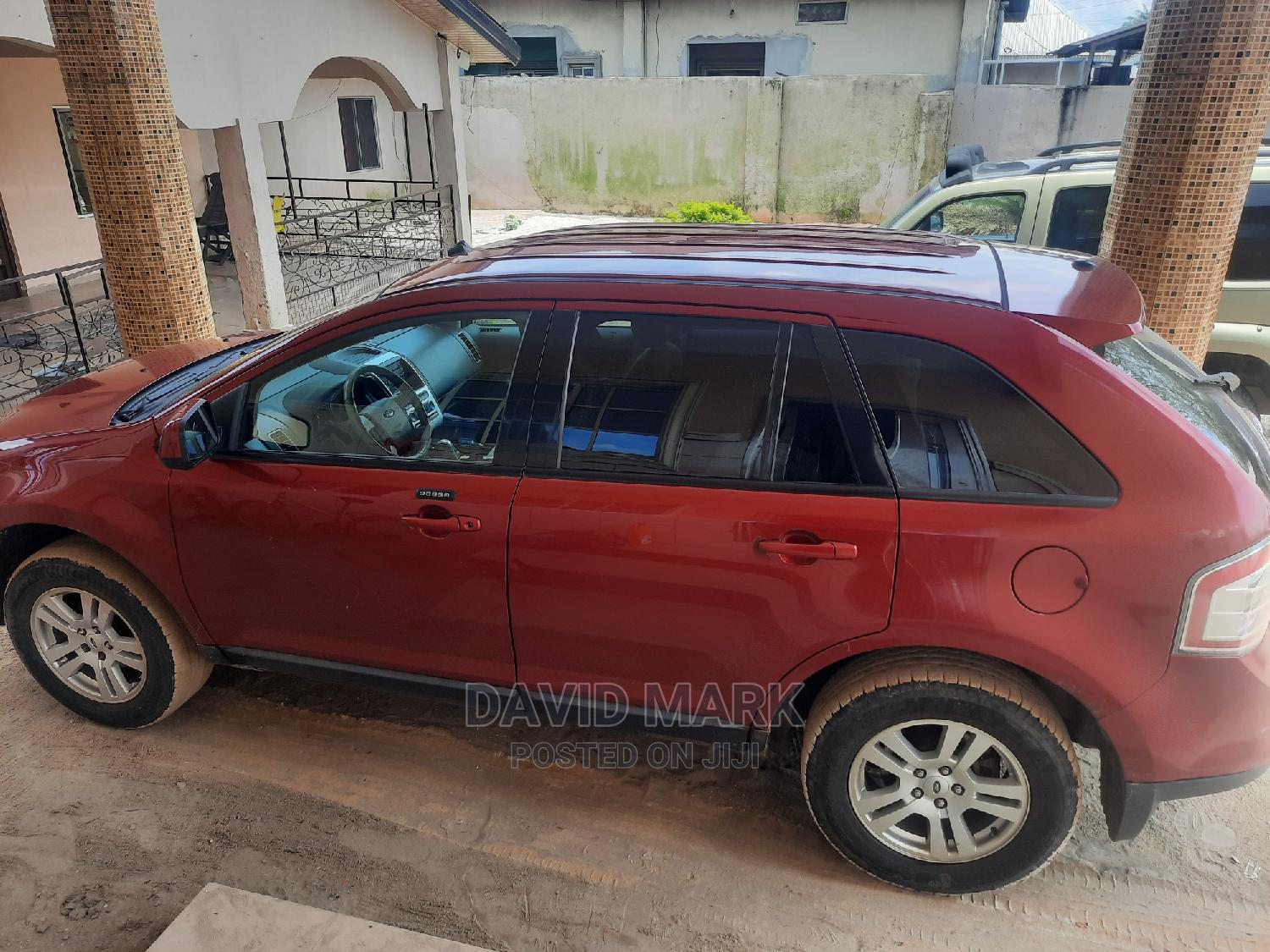 Ford Edge 2008 Red | Cars for sale in Isoko, Delta State, Nigeria