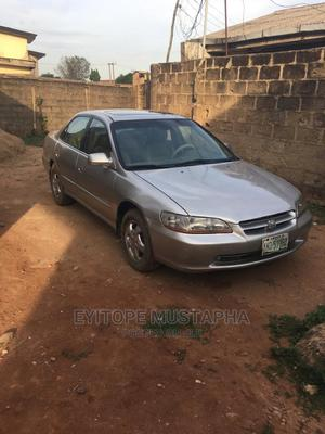 Honda Accord 1999 Coupe Silver   Cars for sale in Lagos State, Alimosho
