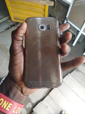 Samsung Galaxy S7 edge 32 GB Gold   Mobile Phones for sale in Ondo State, Akure