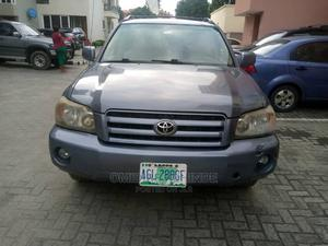 Toyota Highlander 2003 Base AWD Gray   Cars for sale in Lagos State, Ikeja
