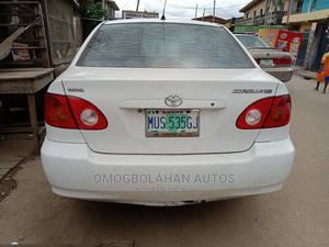 Toyota Corolla 2004 LE White   Cars for sale in Lagos State, Oshodi