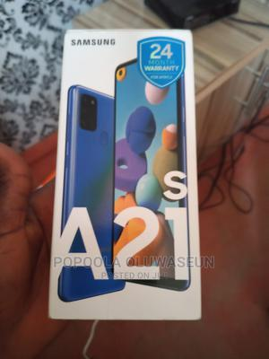 Samsung Galaxy A21s 64 GB Blue   Mobile Phones for sale in Ogun State, Abeokuta South