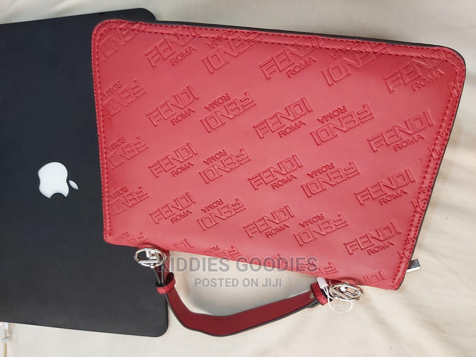 Archive: Fendi Midi Red Handbag