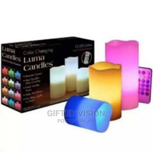 Decorative Flameless Luma Candles With Remote | Home Accessories for sale in Lagos State, Surulere