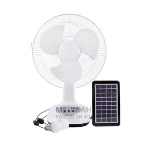Solar Rechargeable Fan | Home Accessories for sale in Niger State, Minna