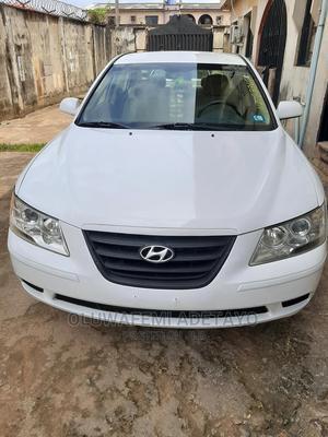 Hyundai Sonata 2010 White | Cars for sale in Lagos State, Alimosho