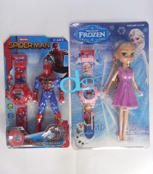 Action Figure and Wristwatch   Toys for sale in Lagos State, Apapa