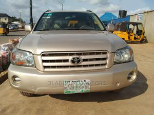 Toyota Highlander 2006 V6 4x4 Gold | Cars for sale in Lagos State, Alimosho