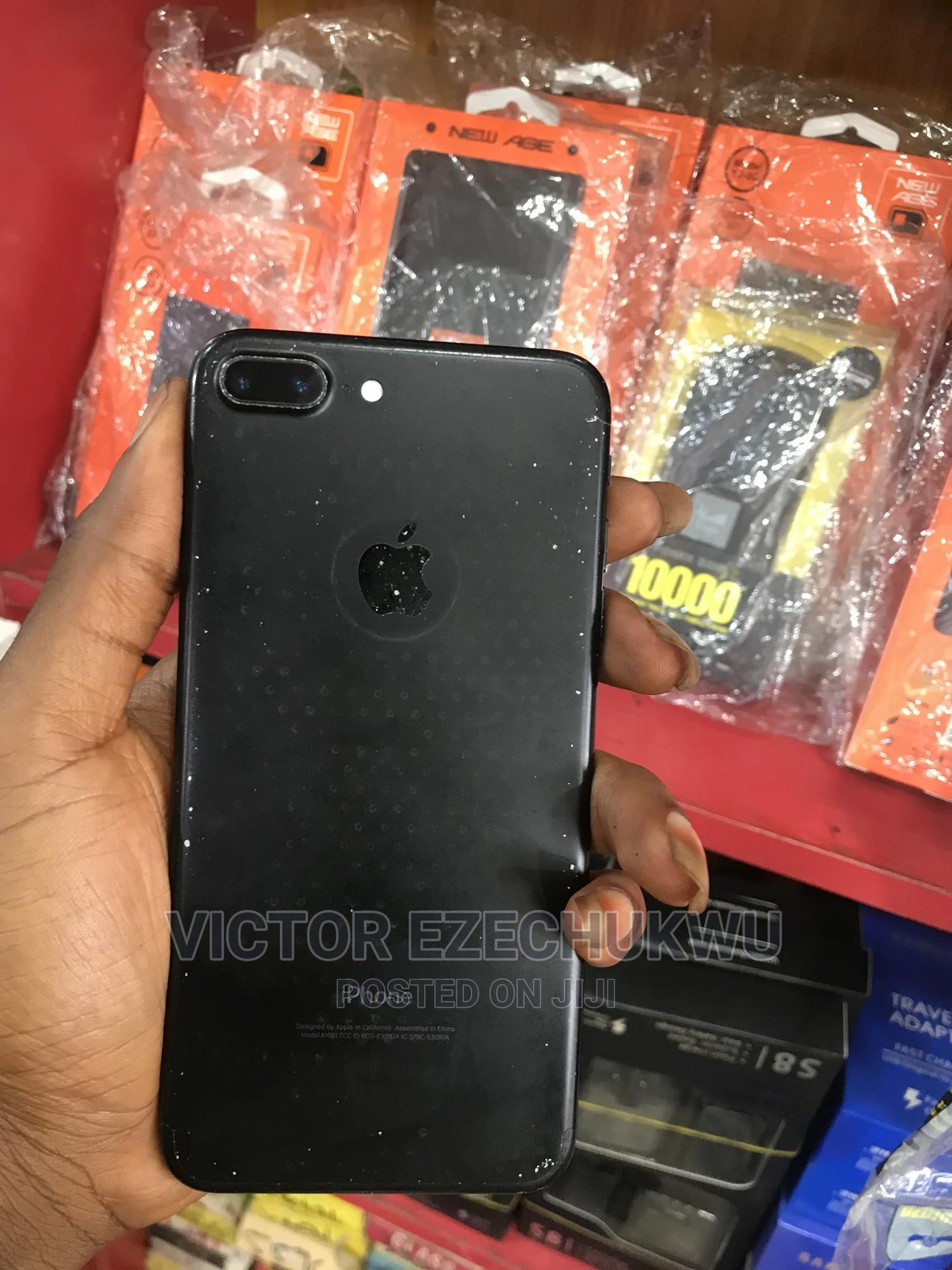 Apple iPhone 7 Plus 128 GB Black   Mobile Phones for sale in Port-Harcourt, Rivers State, Nigeria