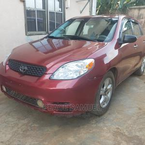 Toyota Matrix 2003 Red | Cars for sale in Lagos State, Alimosho