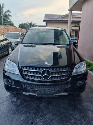 Mercedes-Benz M Class 2007 ML 350 4Matic Black   Cars for sale in Rivers State, Port-Harcourt