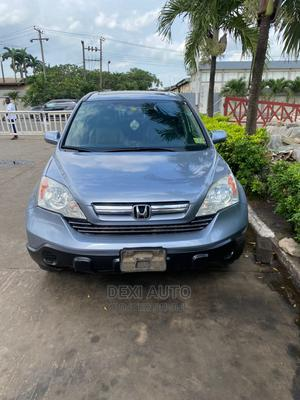 Honda CR-V 2008 2.4 EX-L 4x4 Automatic Blue | Cars for sale in Lagos State, Ogba