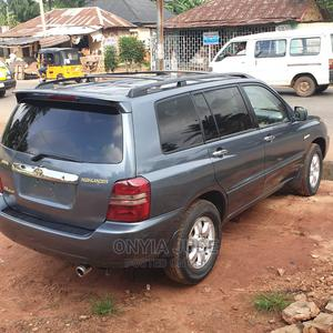 Toyota Highlander 2004 Limited V6 4x4 Gray | Cars for sale in Anambra State, Nnewi