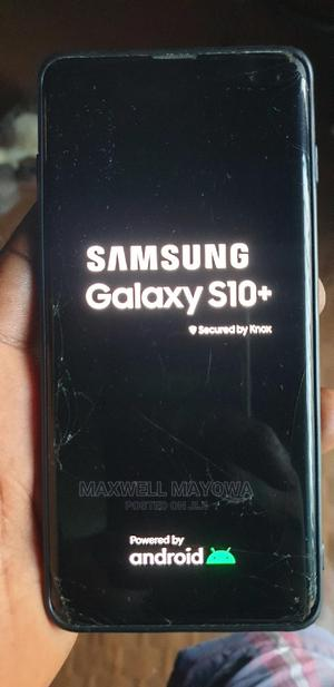 Samsung Galaxy S10 Plus 128 GB Black | Mobile Phones for sale in Lagos State, Alimosho