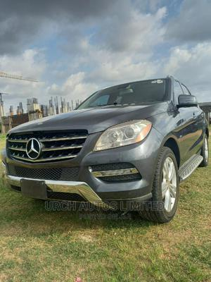 Mercedes-Benz M Class 2012 ML 350 4Matic Gray   Cars for sale in Abuja (FCT) State, Jahi