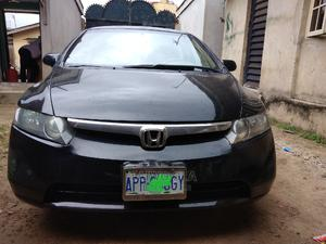 Honda Civic 2006 1.8 Sport Automatic Black   Cars for sale in Lagos State, Abule Egba