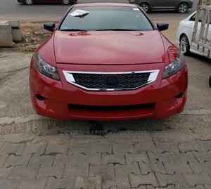Honda Accord 2009 Coupe 2.4 EX-L Red | Cars for sale in Lagos State, Ikeja