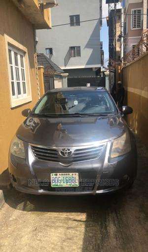 Toyota Avensis 2009 Gray | Cars for sale in Lagos State, Surulere