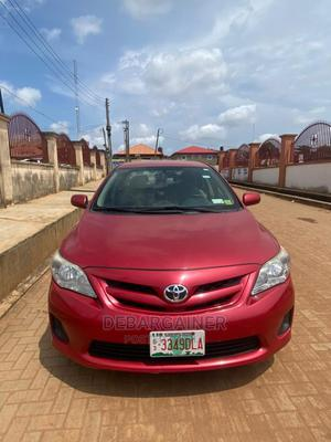 Toyota Corolla 2013 Red   Cars for sale in Lagos State, Ikorodu
