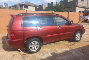 Toyota Highlander 2003 Limited V6 AWD Red | Cars for sale in Lagos State, Isolo