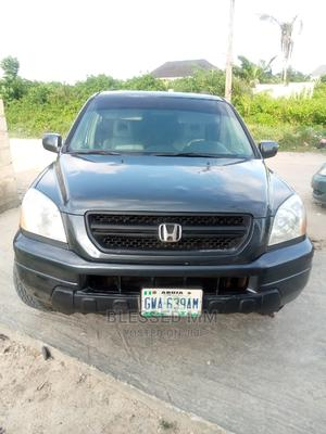 Honda Pilot 2004 EX-L 4x4 (3.5L 6cyl 5A) Gray | Cars for sale in Lagos State, Ajah
