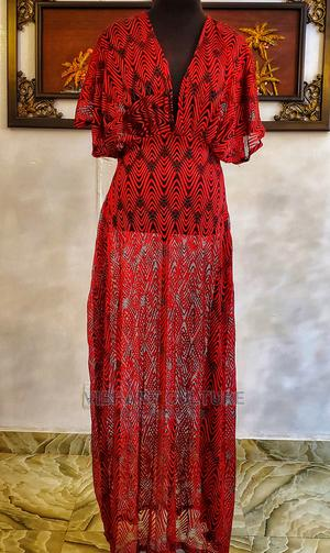 Grecian-Style Maxi Lace Dress   Clothing for sale in Lagos State, Surulere