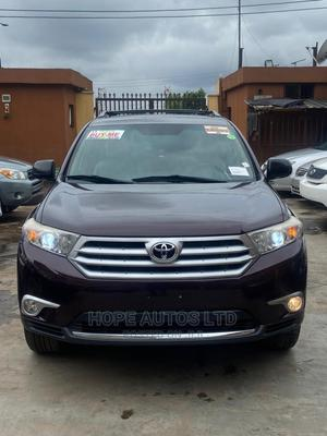 Toyota Highlander 2012 Limited Burgandy | Cars for sale in Lagos State, Ikeja