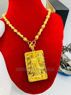 Gold/Silver Plater Zilicon Copper Chain and Pendant | Jewelry for sale in Lagos State, Apapa