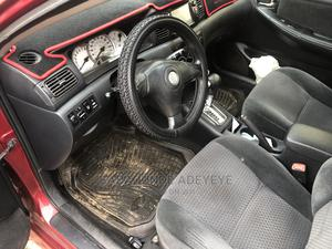 Toyota Corolla 2007 Red   Cars for sale in Abuja (FCT) State, Lugbe District