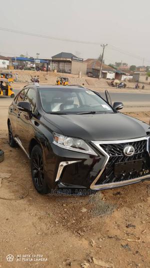 Lexus RX 2012 Black   Cars for sale in Abuja (FCT) State, Dutse-Alhaji