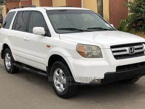 Honda Pilot 2007 White | Cars for sale in Lagos State, Agege