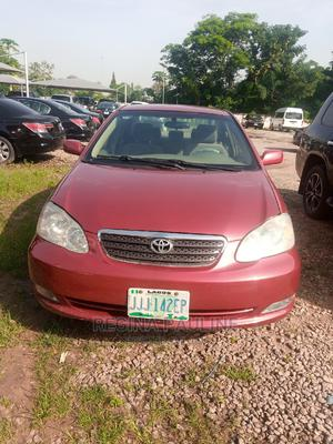 Toyota Corolla 2006 Red | Cars for sale in Abuja (FCT) State, Central Business District