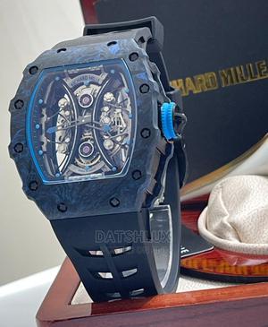 RICHARD MILLE Rubber Strap Men Wristwatch   Watches for sale in Lagos State, Lagos Island (Eko)