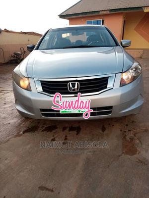 Honda Accord 2008 2.4 EX Automatic Silver | Cars for sale in Osun State, Ede