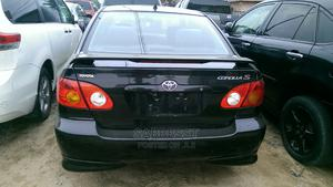 Toyota Corolla 2003 Black   Cars for sale in Lagos State, Isolo