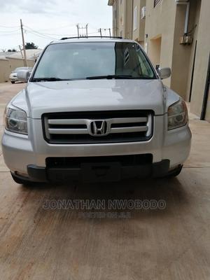 Honda Pilot 2007 EX-L 4x4 (3.5L 6cyl 5A) Silver | Cars for sale in Enugu State, Enugu
