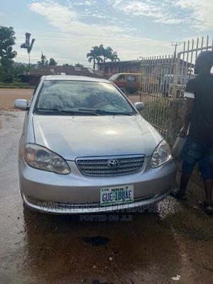 Toyota Corolla 2003 Sedan Automatic Silver   Cars for sale in Edo State, Benin City