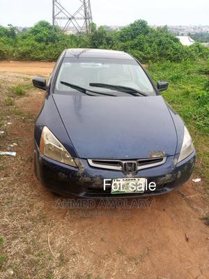 Honda Accord 2005 Sedan LX V6 Automatic Blue | Cars for sale in Ogun State, Sagamu